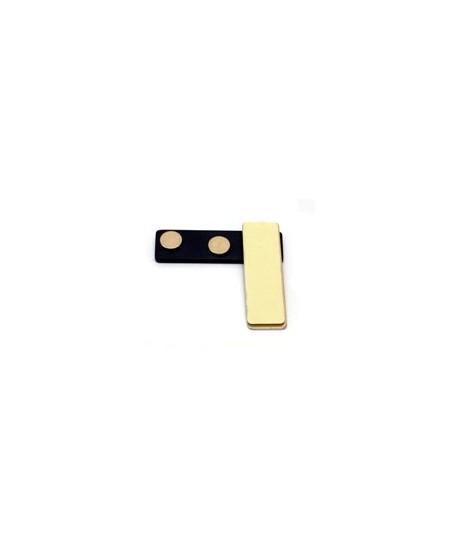 Magnetinis laikiklis vardinei kortelei, 45x13 mm
