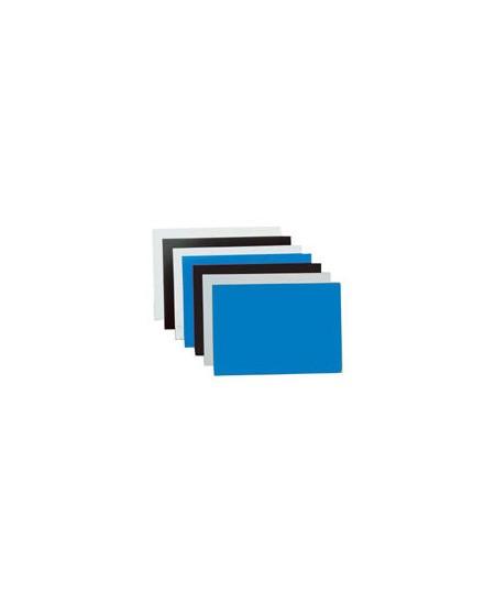 Įrišimo nugarėlės chromuotos, 250g/m2, 100vnt., mėlynos sp.