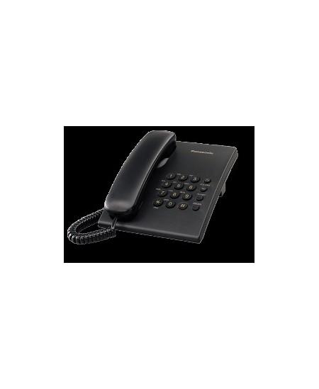 Telefonas Panasonic KX-TS500FXB, juodas