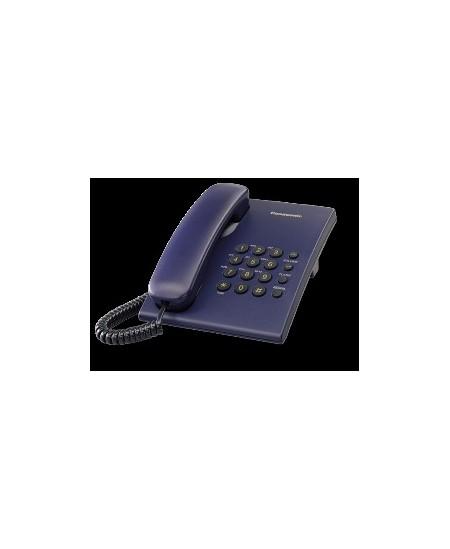 Telefonas Panasonic KX-TS500FXC, tamsiai mėlynas