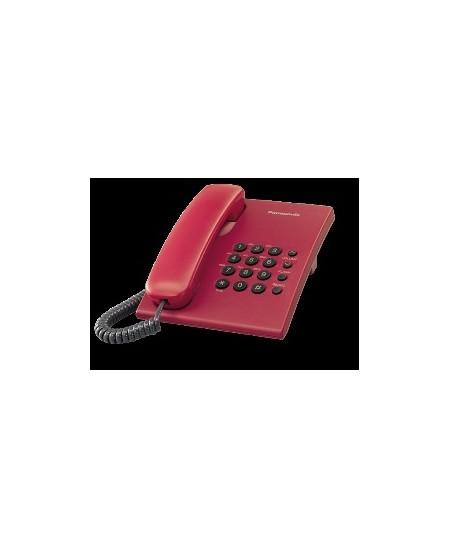 Telefonas Panasonic KX-TS500FXR, vyšninis