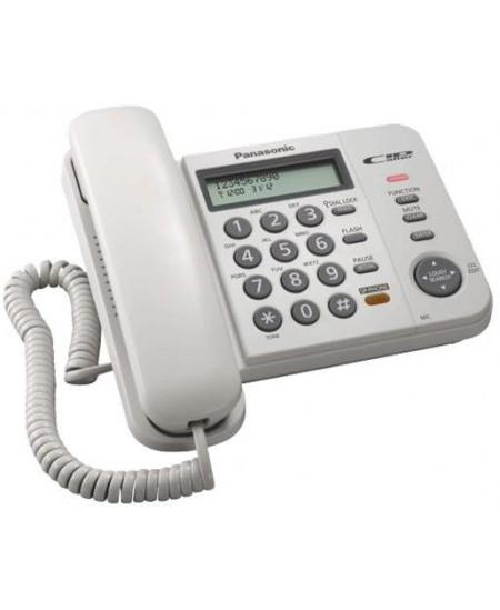 Telefonas Panasonic KX-TS580FXW, baltas