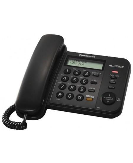 Telefonas Panasonic KX-TS580FXB, juodas