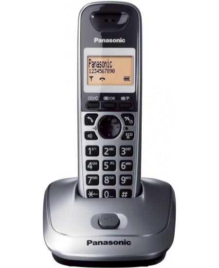 Telefonas Panasonic KX-TG2511FXT, juodas