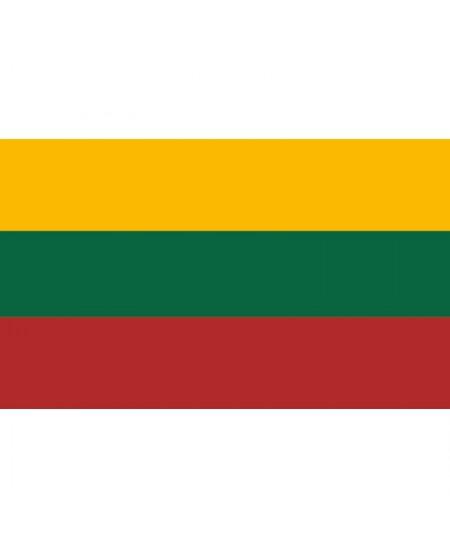 Šilkografinė Lietuvos vėliava 170x100cm, tvirtinama ant koto
