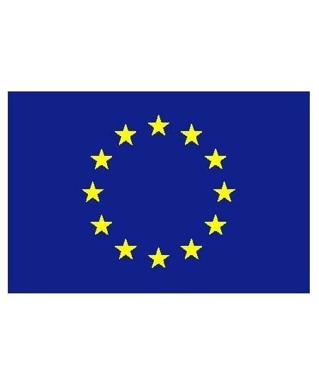 Šilkografinė ES vėliava 170x100cm, su karabinais, tvirtinimui ant stiebo