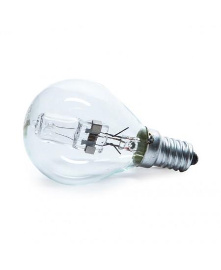 Halogeninė elektros lemputė, 28W, E14, burbulo formos