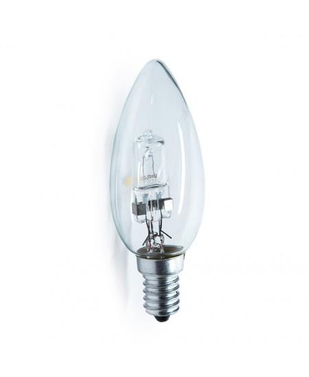 Halogeninė elektros lemputė, 28W, E14, tulpės formos