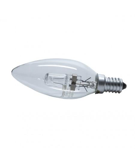 Halogeninė elektros lemputė, 42W, E14, tulpės formos