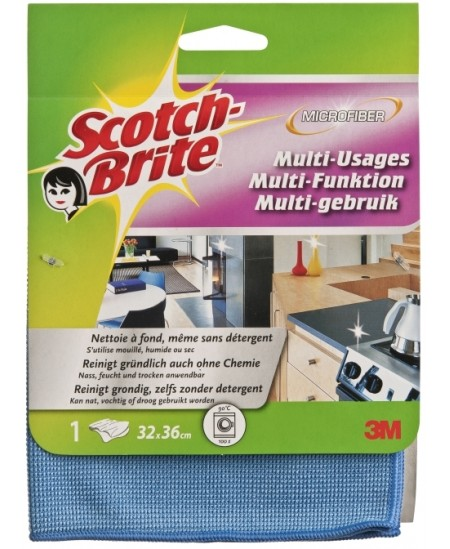 Universali mikroplaušelių šluostė, Scotch-Brite 81