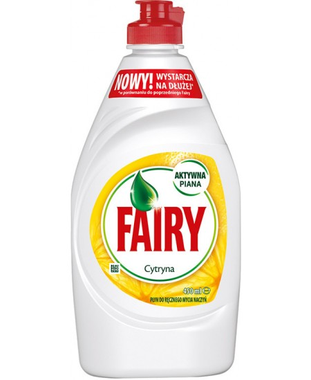 Indų ploviklis FAIRY LEMON, 450ml