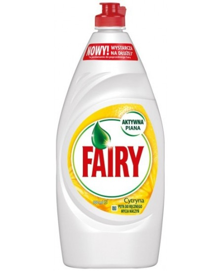 Indų ploviklis FAIRY LEMON, 900 ml.