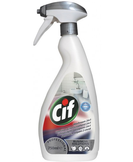 "Sanitarinis valiklis 2in1 ""CIF PROFESSIONAL, 750 ml."