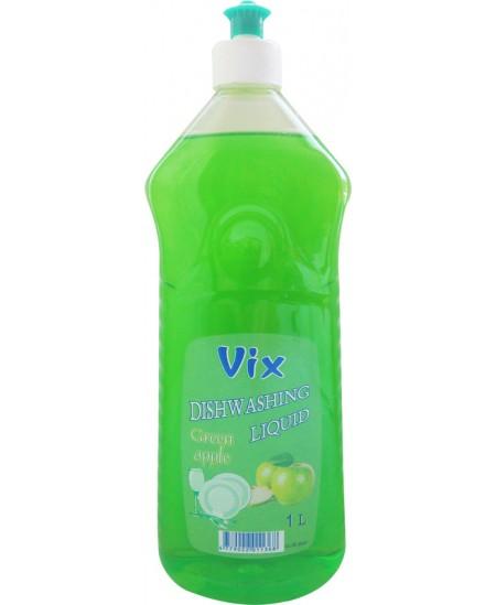 Indų ploviklis VIX, 1000 ml, obuolių kvapas