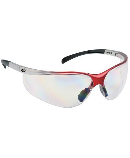 Sportinio dizaino, skaidrūs apsauginiai akiniai ROZELE 6400