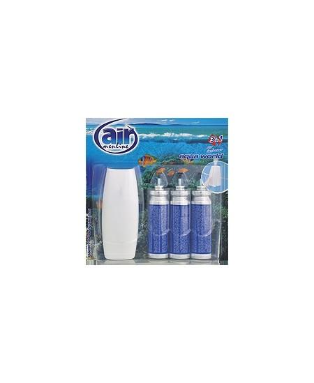 Mechaninis oro gaiviklis AIR MENLINE Aqua, 3x15 ml