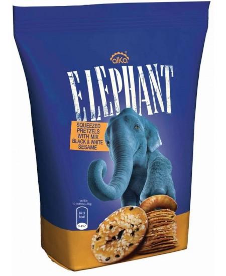 Traškūs krekeriai ELEPHANT su sezamų sėklomis, 80 g