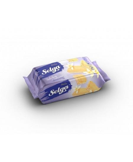 Vafliai SELGA vanilės skonio, 90g