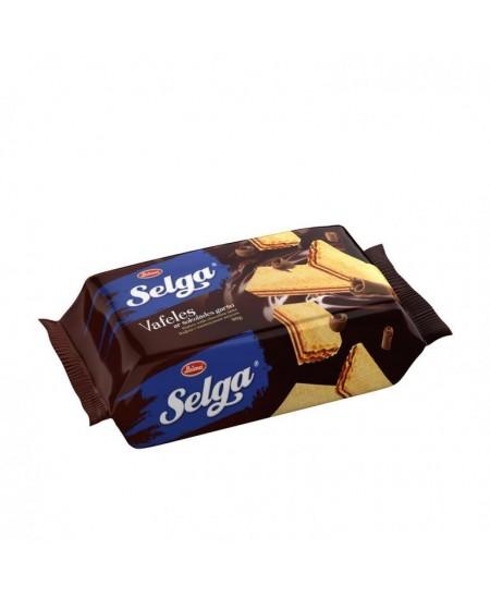 Vafliai SELGA šokolado skonio, 90g