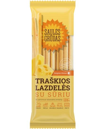 Traškios lazdelės SAULĖS GRŪDAS su sūriu, 125 g