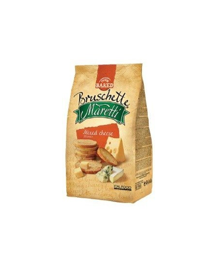 Duonos traškučiai MARETTI Įvairių sūrių skonio duonos, 70 g