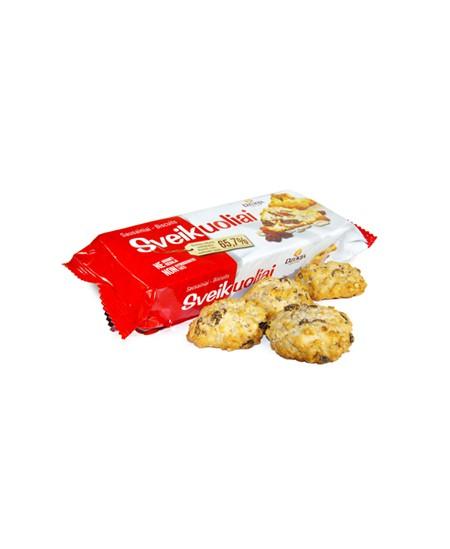 Sausainiai SVEIKUOLIAI su razin., rieš.ir saulėgrąžomis, 150 g