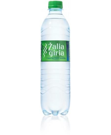 Šaltinio vanduo ŽALIA GIRIA, 500 ml, gazuotas
