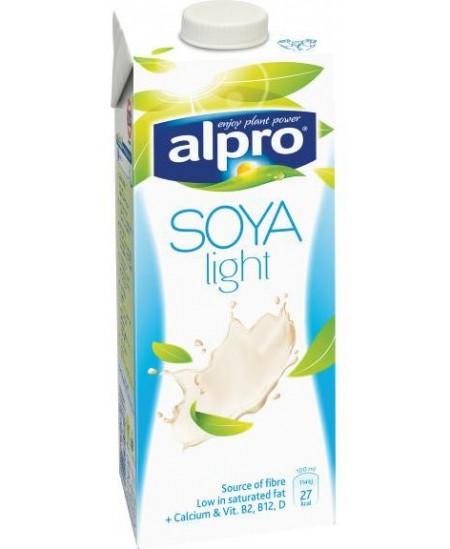 Gėrimas ALPRO, sojų natūralus lengvas, 1 l