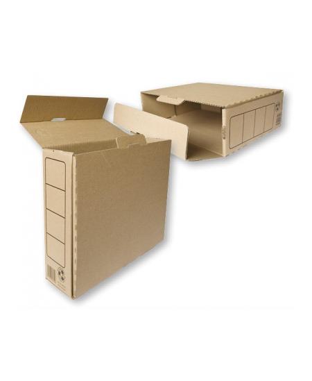 Archyvinė dėžutė SM-LT, 330x245x82 mm, ruda