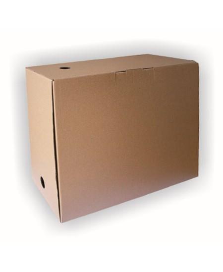 Archyvinė dėžė SM-LT, 350x160x300 mm, mikrogofro, ruda