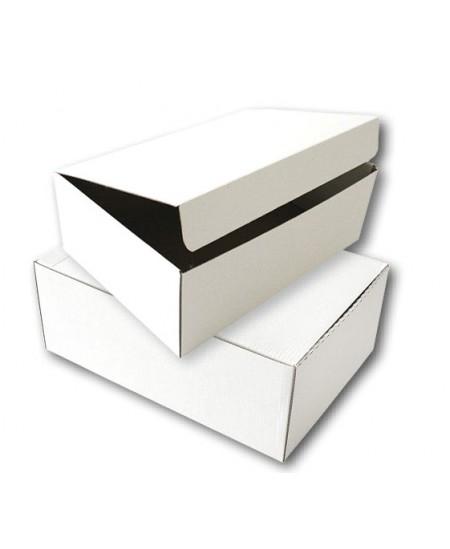 Archyvinė dėžė SM-LT, 120x345x245 mm, mikrogofro, balta
