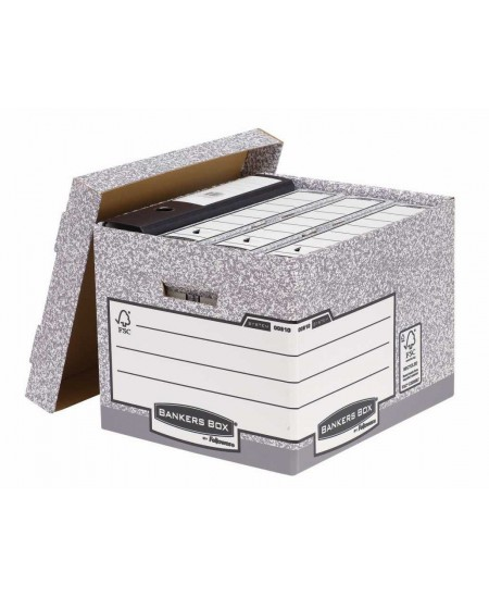 Archyvinė dėžė su dangčiu FELLOWES 333x285x390 mm