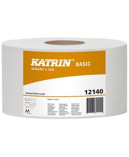 Tualetinis popierius ritinyje KATRIN Basic Gigant L350, 1 ritinys
