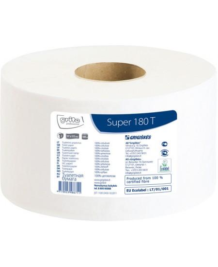 Tualetinis popierius ritinyje GRITE Super 180 T, 1 ritinys