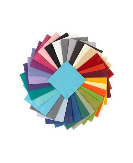 Stalo servetėlės LENEK, žydros spalvos, 3 sluoksnių, 33x33 cm, 250 vnt.