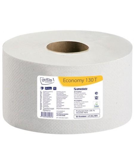Tualetinis popierius ritinyje GRITE Economy 130 T, 1 ritinys