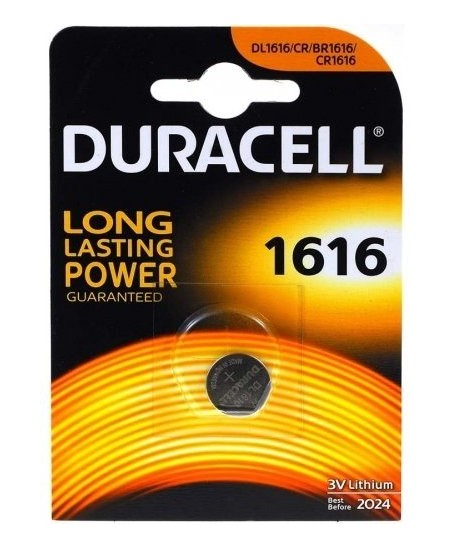 Elementas DURACELL CR1616, ličio, 1 vnt.