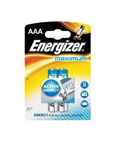 Elementai Energizer Maximum LR03 (AAA), 2 vnt.