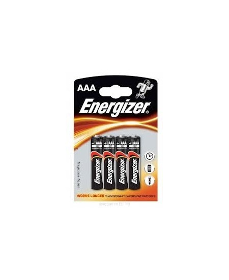 Elementai ENERGIZER LR03 (AAA), 4 vnt.