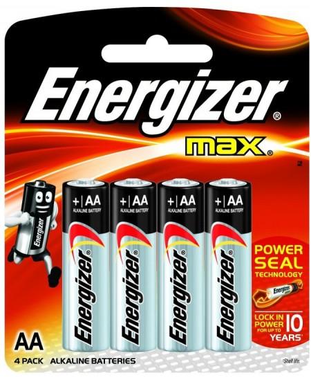 Elementai ENERGIZER LR6 (AA), 4 vnt.