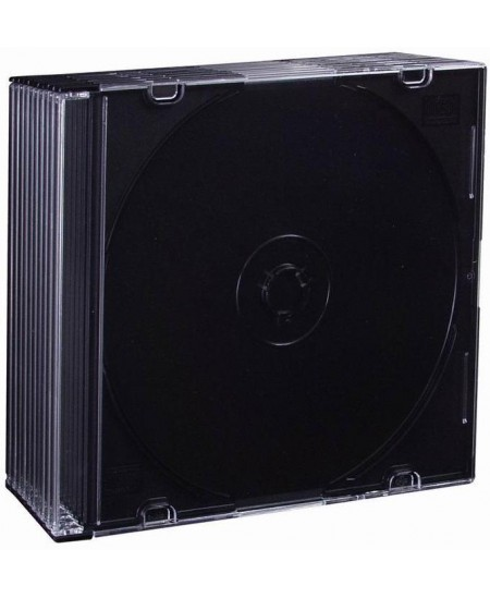 CD dėžutė, plona, 10vnt.