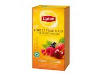 Juodoji arbata LIPTON Forest Fruit, miško uogų skonio, 25 vnt.