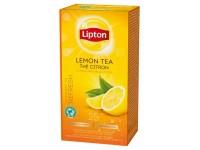 Juodoji arbata LIPTON Lemon, citrinų skonio, 25 vnt.