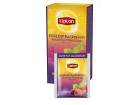 Vaisinė arbata LIPTON Rosehip-Raspberry, erškėtuogių ir aviečių skonio, 25 vnt.