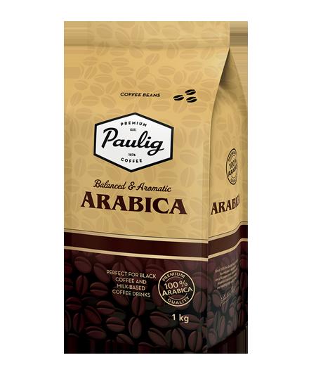 Kavos pupelės PAULIG ARABICA, 1kg.