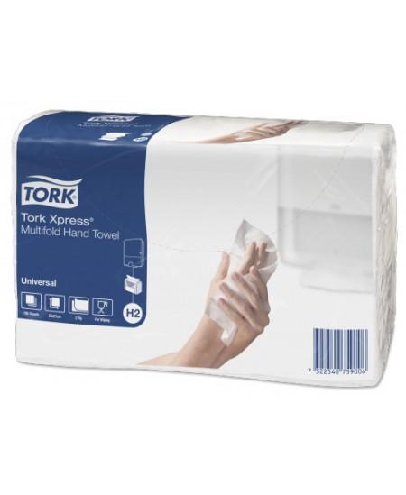 Lapiniai popieriniai rankšluosčiai TORK Xpress Multifold Universal, 471103, 1 pakelis