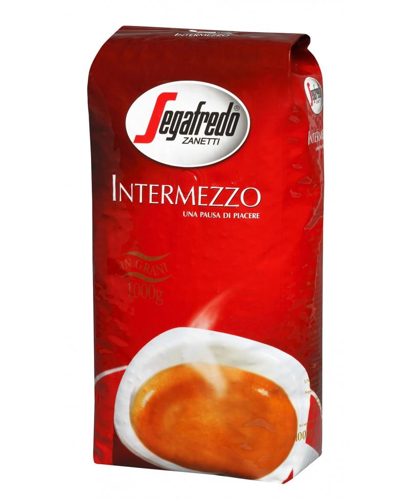 Kavos pupelės SEGAFREDO Intermezzo, 1 kg.