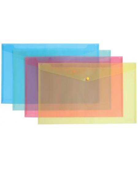 Dėklas - vokas su spaustuku ERICH KRAUSE, A3, įvairių spalvų