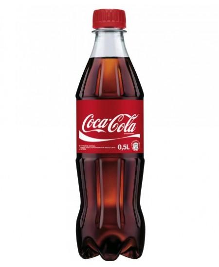 Gazuotas gėrimas Coca Cola, 500 ml