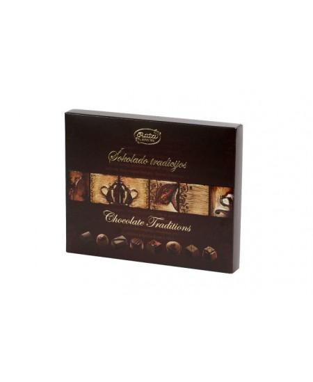 """Saldainių rinkinys """"Šokolado tradicijos"""", 220 g"""